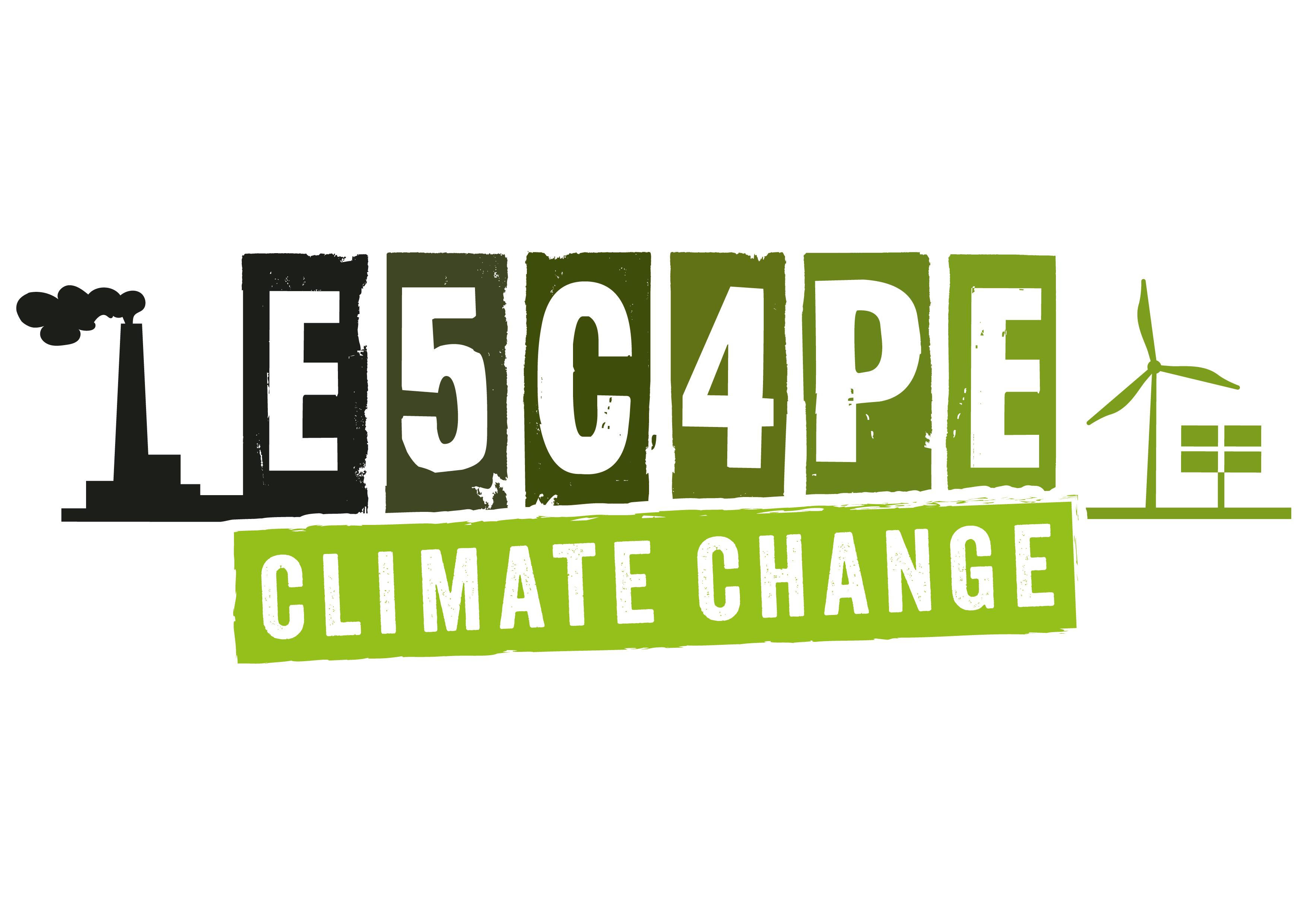 """Logo des Projekts """"Escape Climate Change"""""""