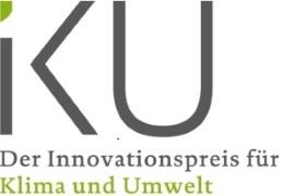 Logo des Deutschen Innovationspreises für Klima und Umwelt (IKU)