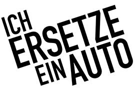 """Logo des Projekts """"Ich ersetze ein Auto"""""""