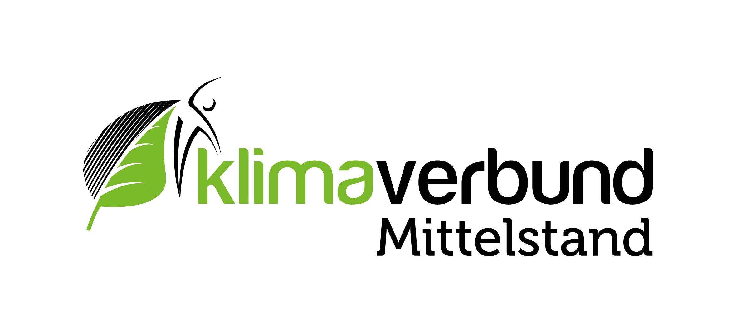 """Das Bild zeigt das Logo des innovativen Klimaschutzprojekts """"Klimaverbund""""."""