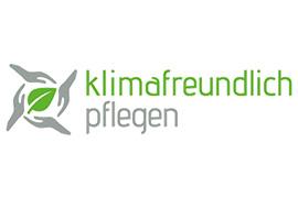"""Logo des Projekts """"Klimafreundlich pflegen"""""""