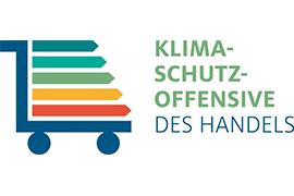 Logo der HDE-Klimaschutzoffensive