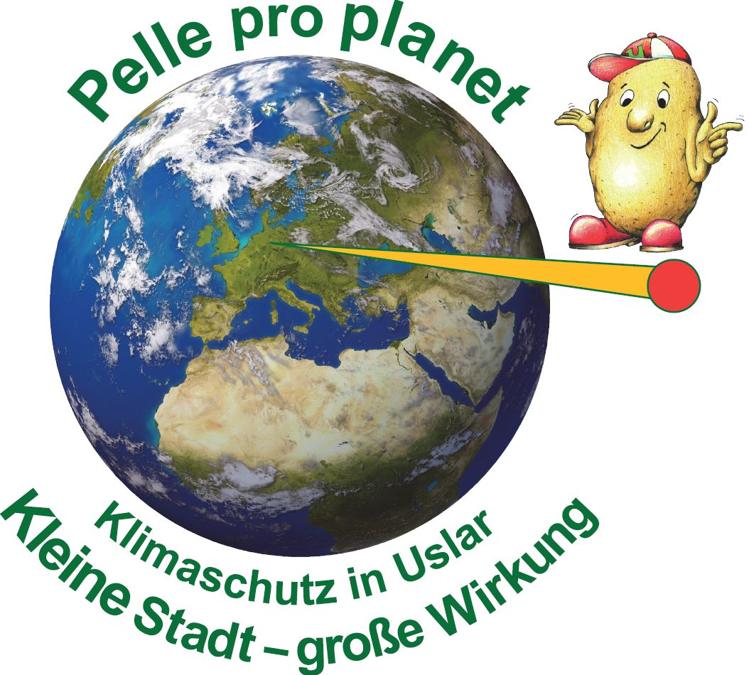 Logo Pelle pro planet Klimaschutz in Uslar