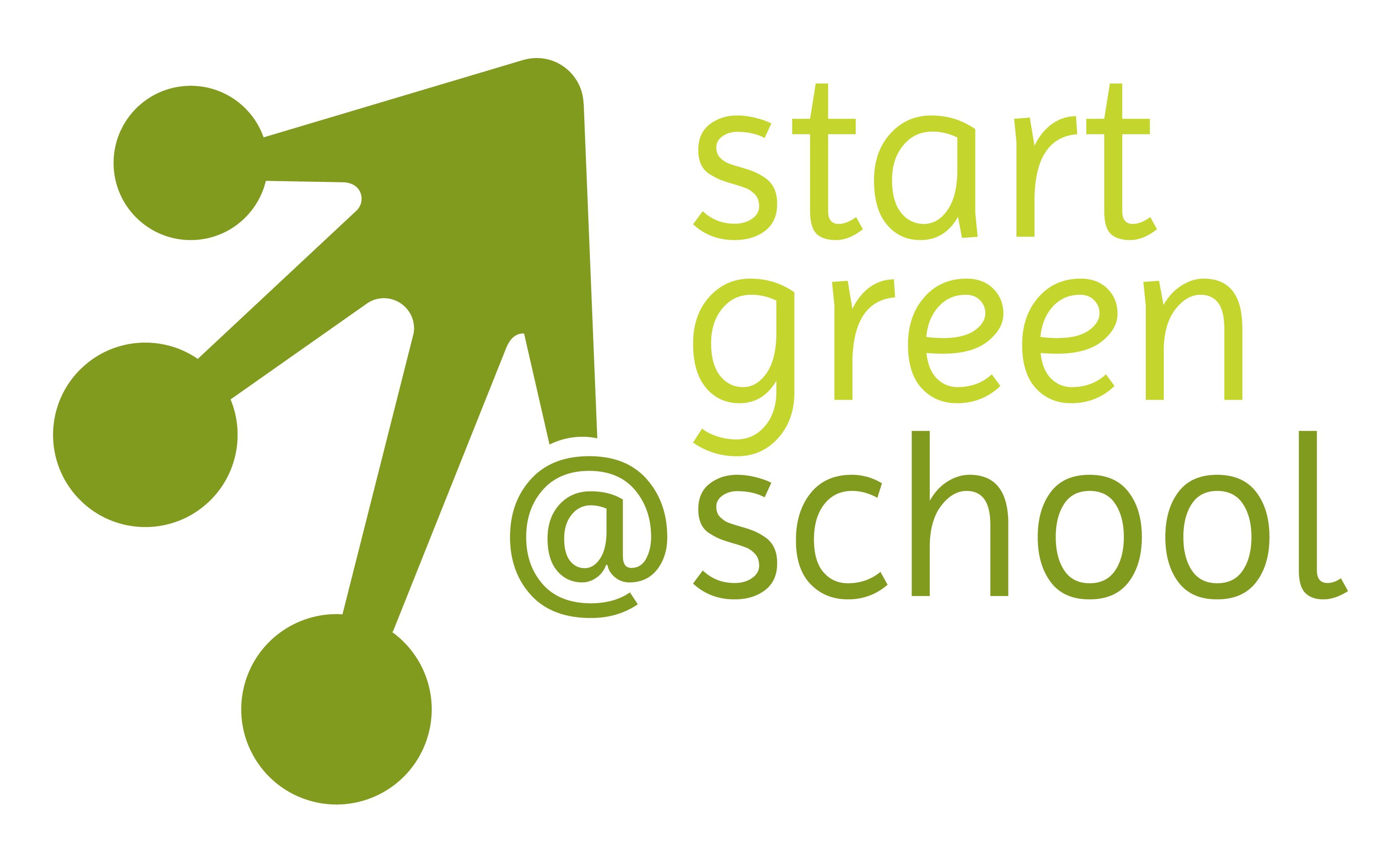 """Logo des Projekts """"StartGreen@School"""""""