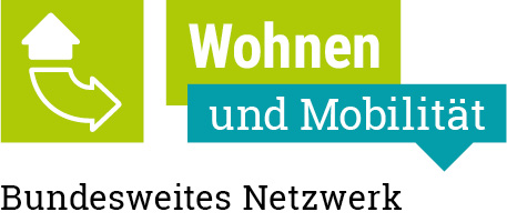 """Logo des Projekts """"Bundesweites Netzwerk Wohnen und Mobilität"""""""